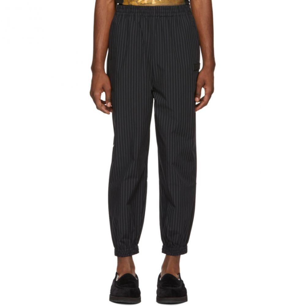 パークスアンドミニ Perks and Mini メンズ ボトムス・パンツ【Black Striped Executive Realness Lounge Pants】