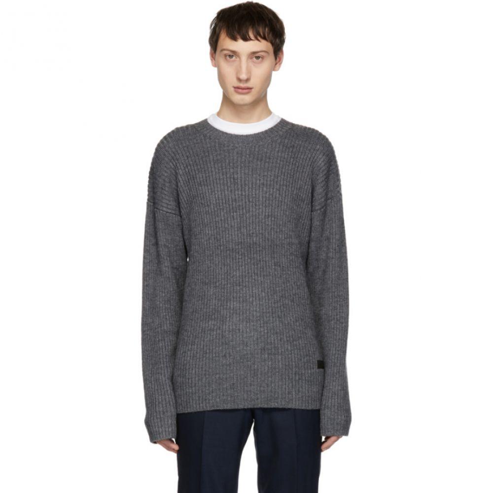タイガー オブ スウェーデン Tiger of Sweden Jeans メンズ トップス ニット・セーター【Grey Page Sweater】