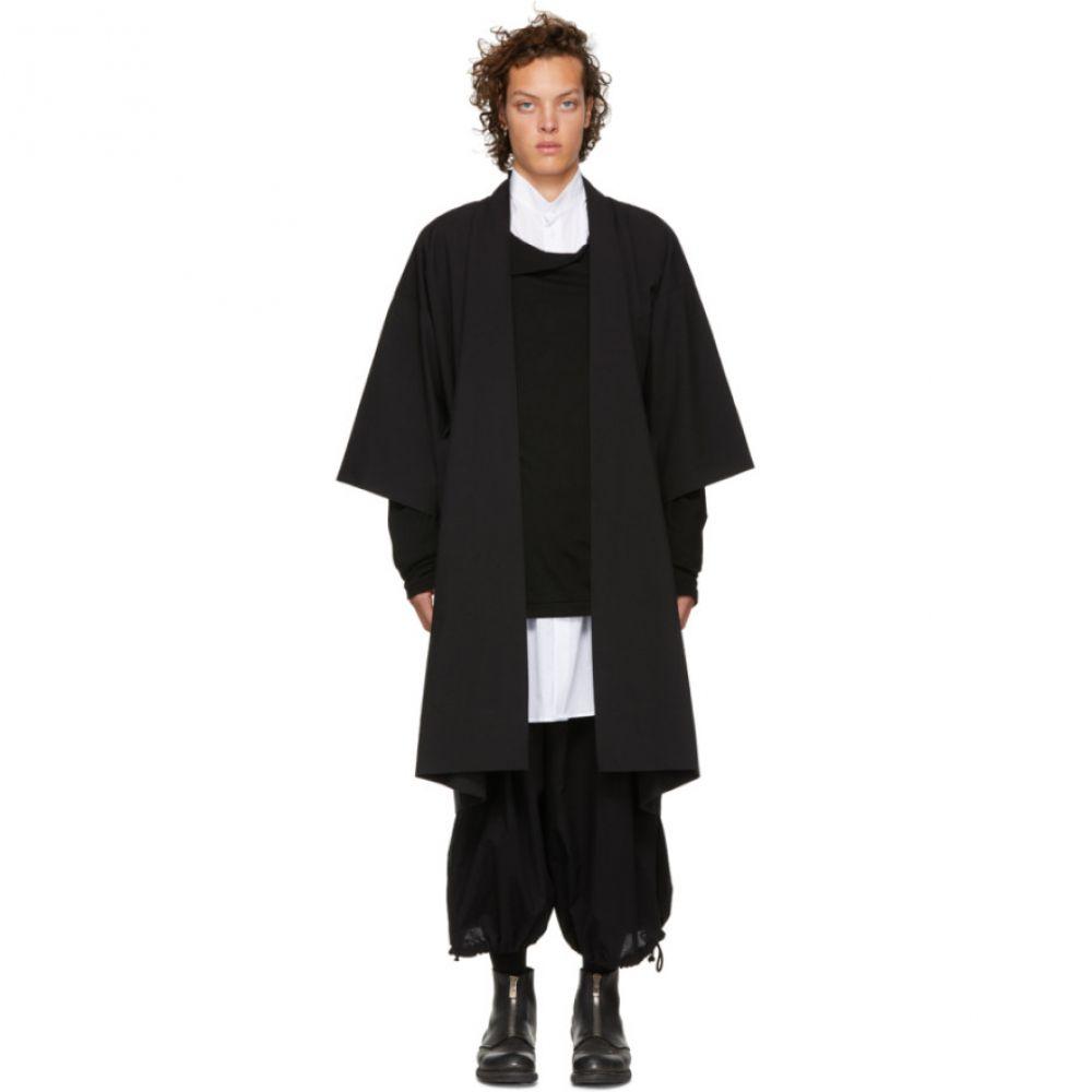 ヤン ヤン ヴァン エシュ Jan-Jan Van Essche メンズ トップス カーディガン【Black Kimono Cardigan】