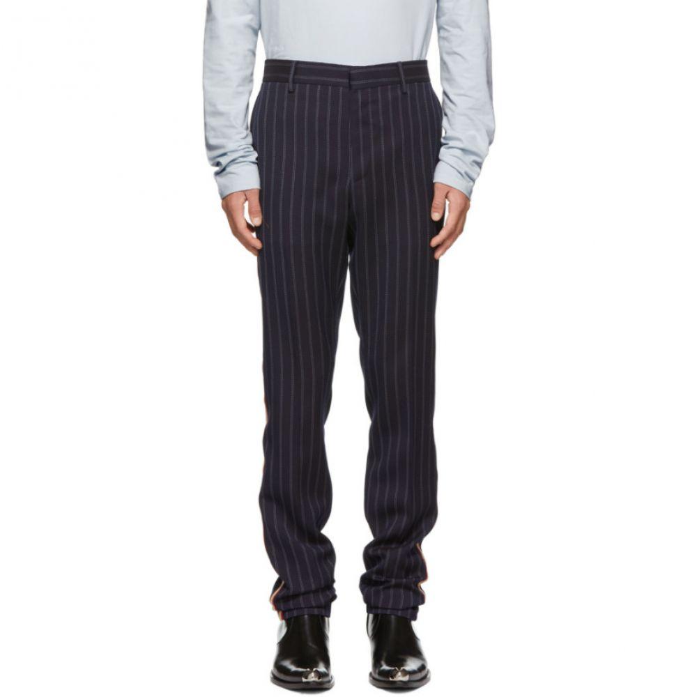 カルバンクライン Calvin Klein 205W39NYC メンズ ボトムス・パンツ【Navy Uniform Stripe Trousers】