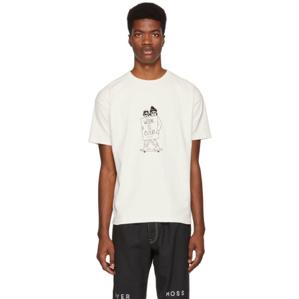 レミレリーフ Remi Relief メンズ トップス Tシャツ【Off-White 'Work Is Over' T-Shirt】