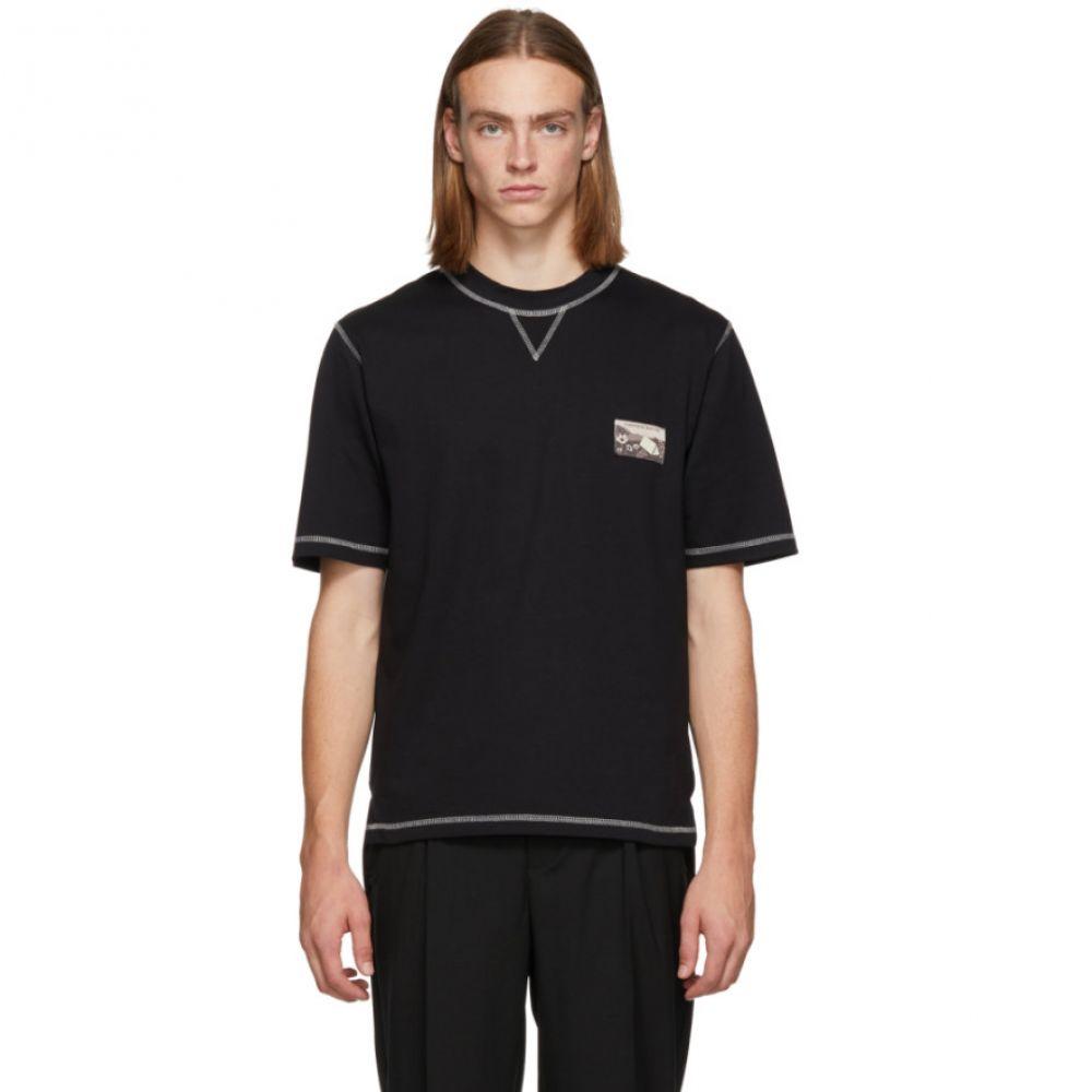 ル オムルージュ L'Homme Rouge メンズ トップス Tシャツ【Black Climber T-Shirt】