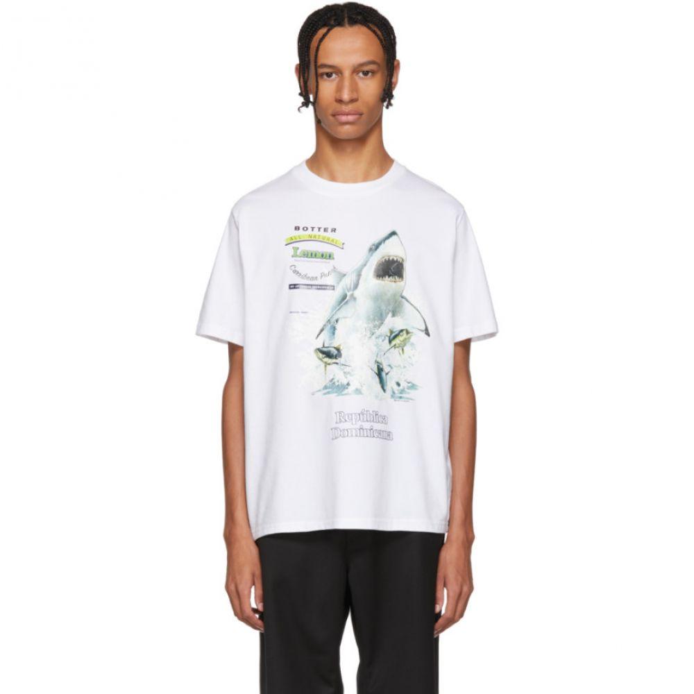 ボッター Botter メンズ トップス Tシャツ【White Shark T-Shirt】