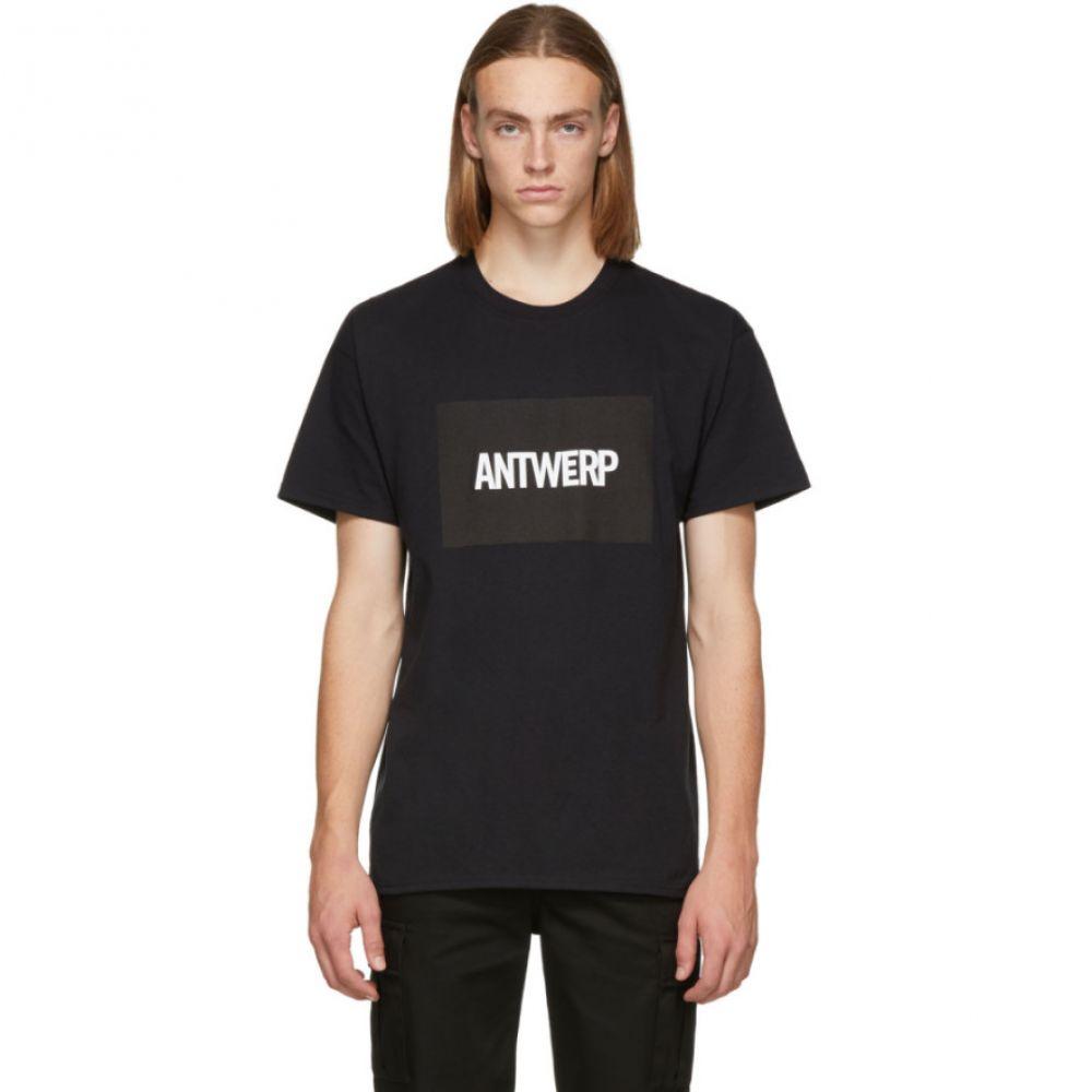 フィア Vier メンズ トップス Tシャツ【Black Box Logo T-Shirt】