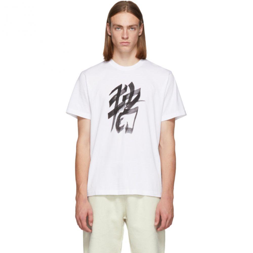 ヴェトモン Vetements メンズ トップス Tシャツ【White Pig Chinese Zodiac T-Shirt】