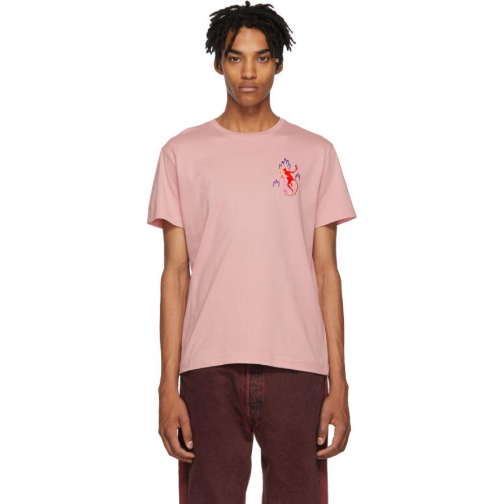 カルネボレンテ Carne Bollente メンズ トップス Tシャツ【Pink L'Indecente aux Enfers T-Shirt】
