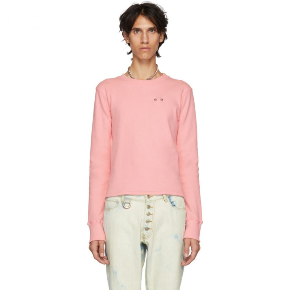 リンダー Linder メンズ トップス Tシャツ【Pink Oatmeal Bosie T-Shirt】