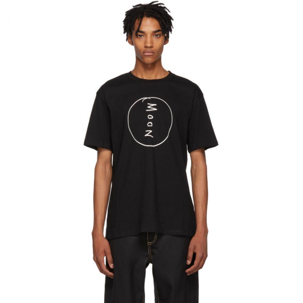 ダブルレインボー Double Rainbouu メンズ トップス Tシャツ【Black 'Moon' T-Shirt】