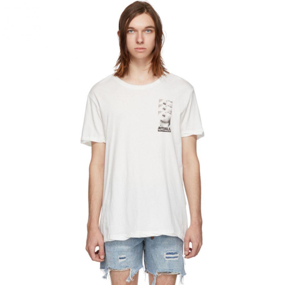 スビ Ksubi メンズ トップス Tシャツ【White Rituals T-Shirt】