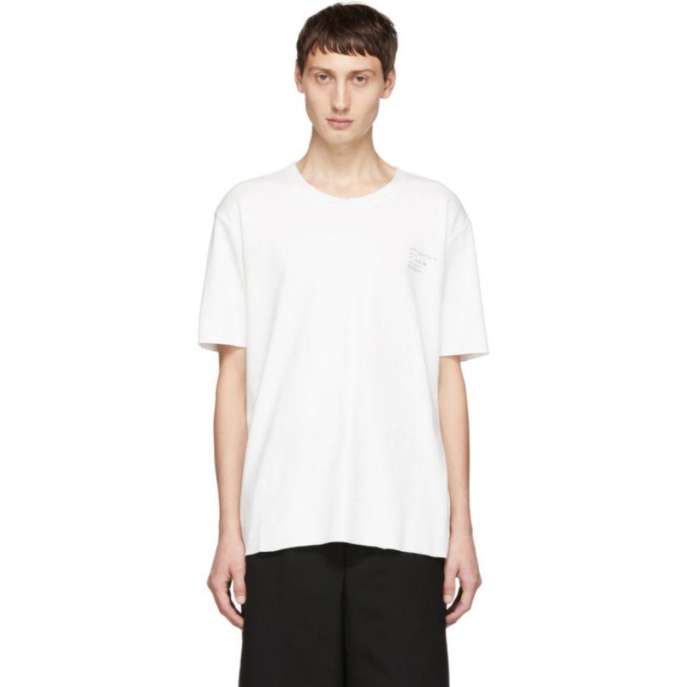 カミエル フォートへンス Camiel Fortgens メンズ トップス Tシャツ【White Logo T-Shirt】