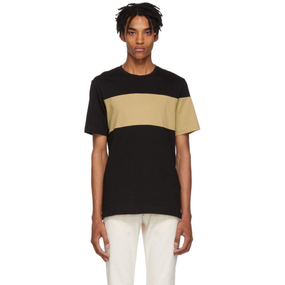 ヘルムート ラング Helmut Lang メンズ トップス Tシャツ【Black & Brown Logo Band T-Shirt】