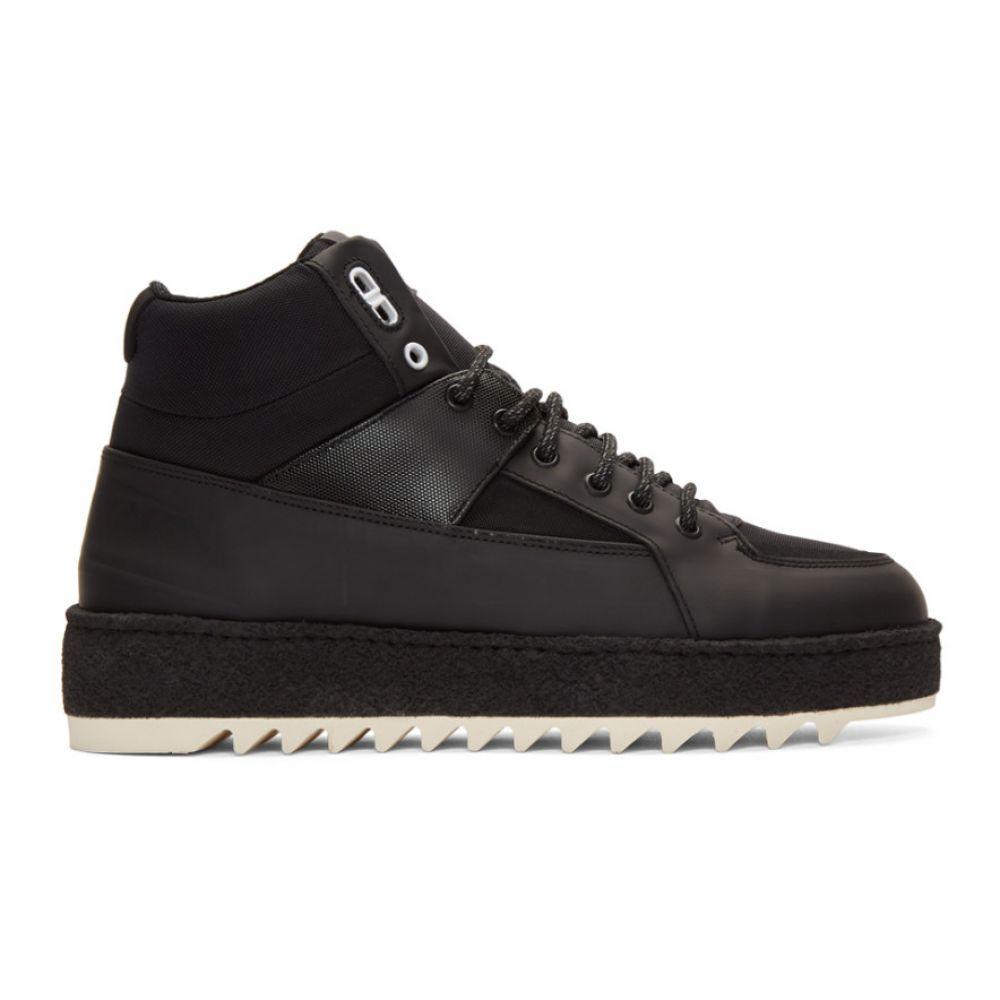 アムステルダム ETQ Amsterdam メンズ ハイキング・登山 シューズ・靴【Black HT 02 Hiking Sneakers】
