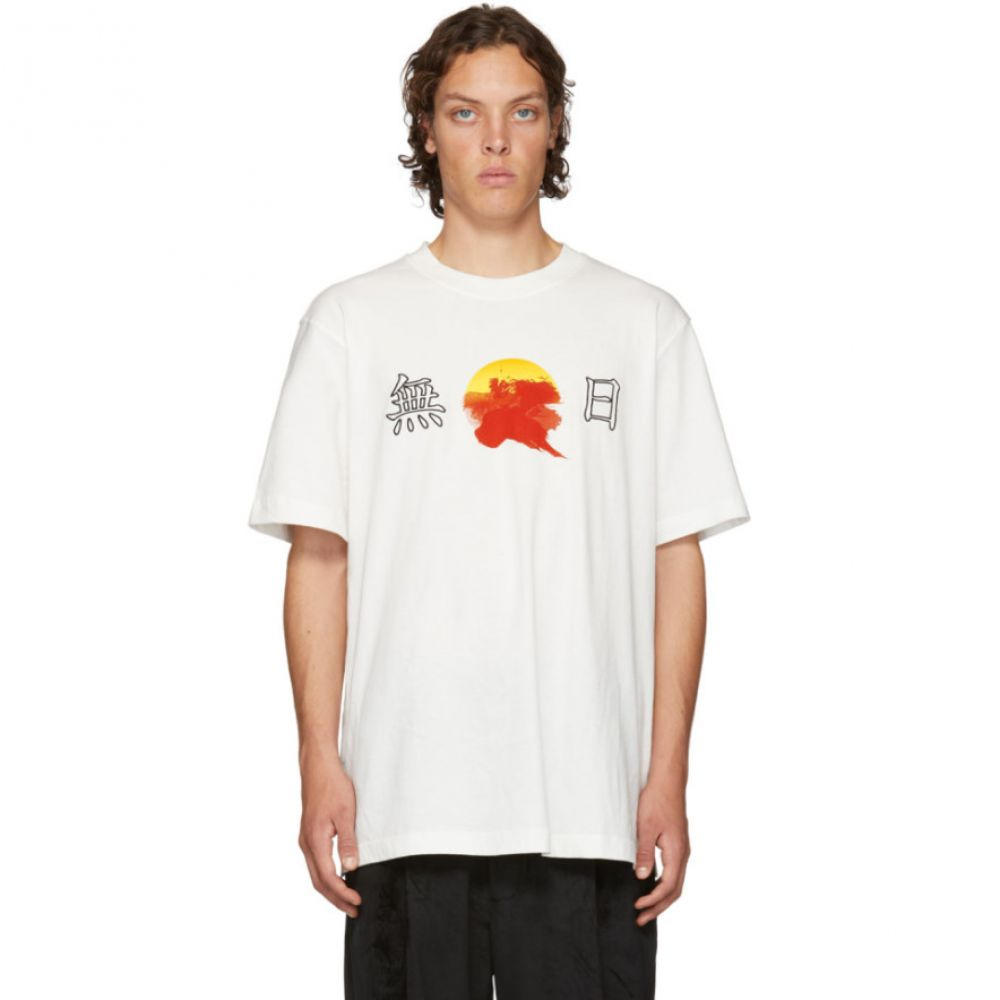 D BY D メンズ トップス Tシャツ【White No Sun T-Shirt】