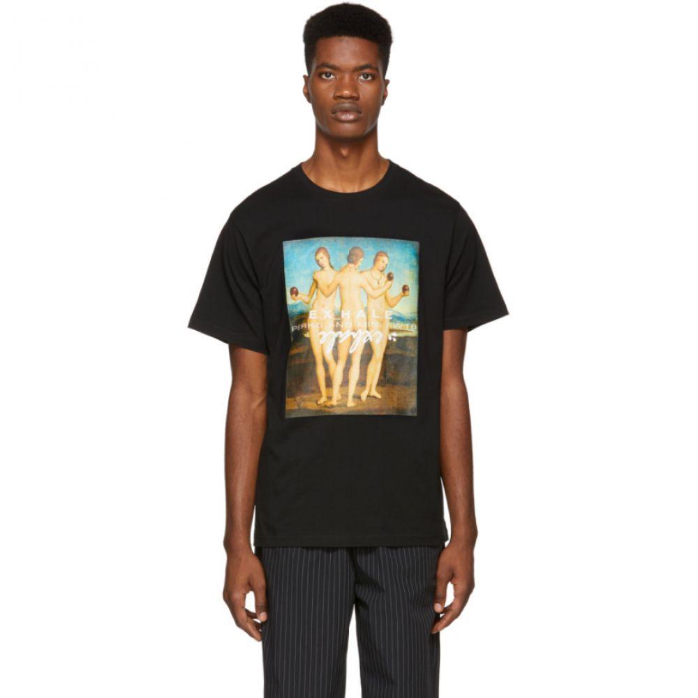 パークスアンドミニ Perks and Mini メンズ トップス Tシャツ【Black Three Graces T-Shirt】