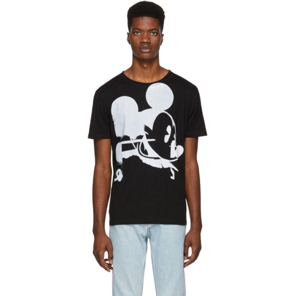 フェイス コネクション Faith Connexion メンズ トップス Tシャツ【Black Disney Edition T-Shirt】
