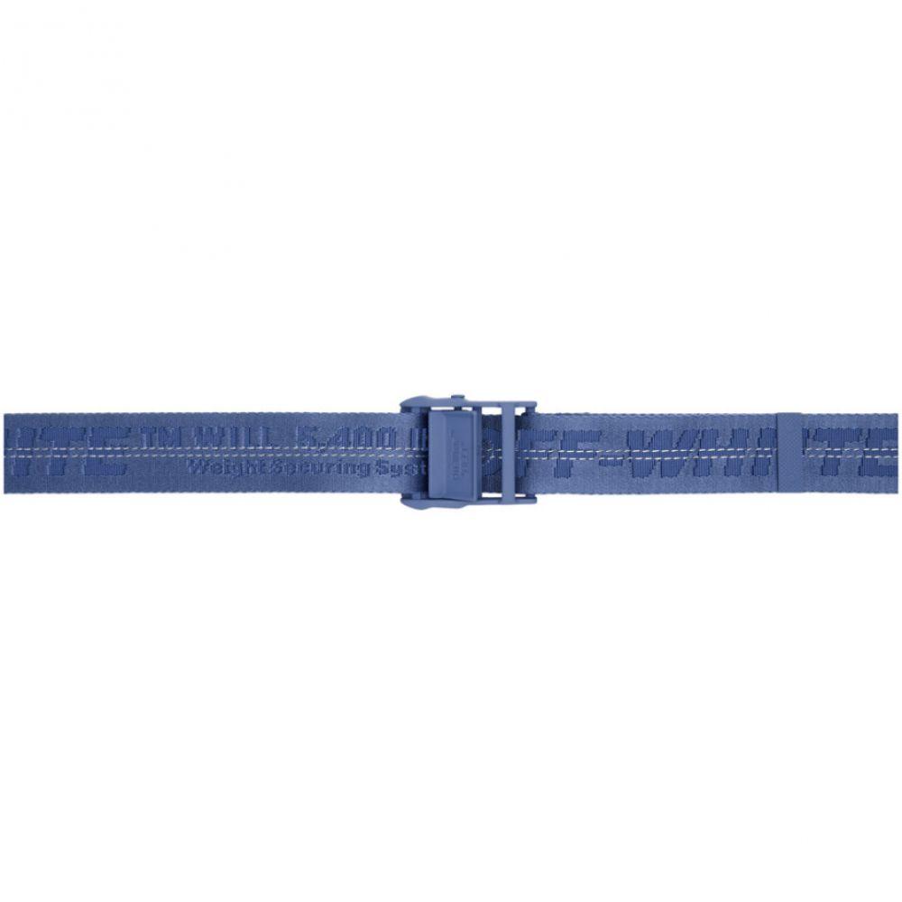 オフ-ホワイト Off-White レディース ベルト【Blue Classic Industrial Belt】