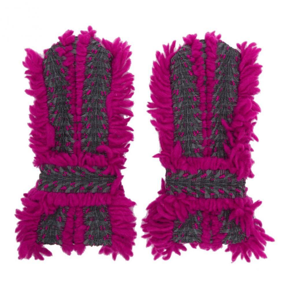 イッセイ ミヤケ Issey Miyake レディース 手袋・グローブ【Pink & Grey Eagle Gloves】