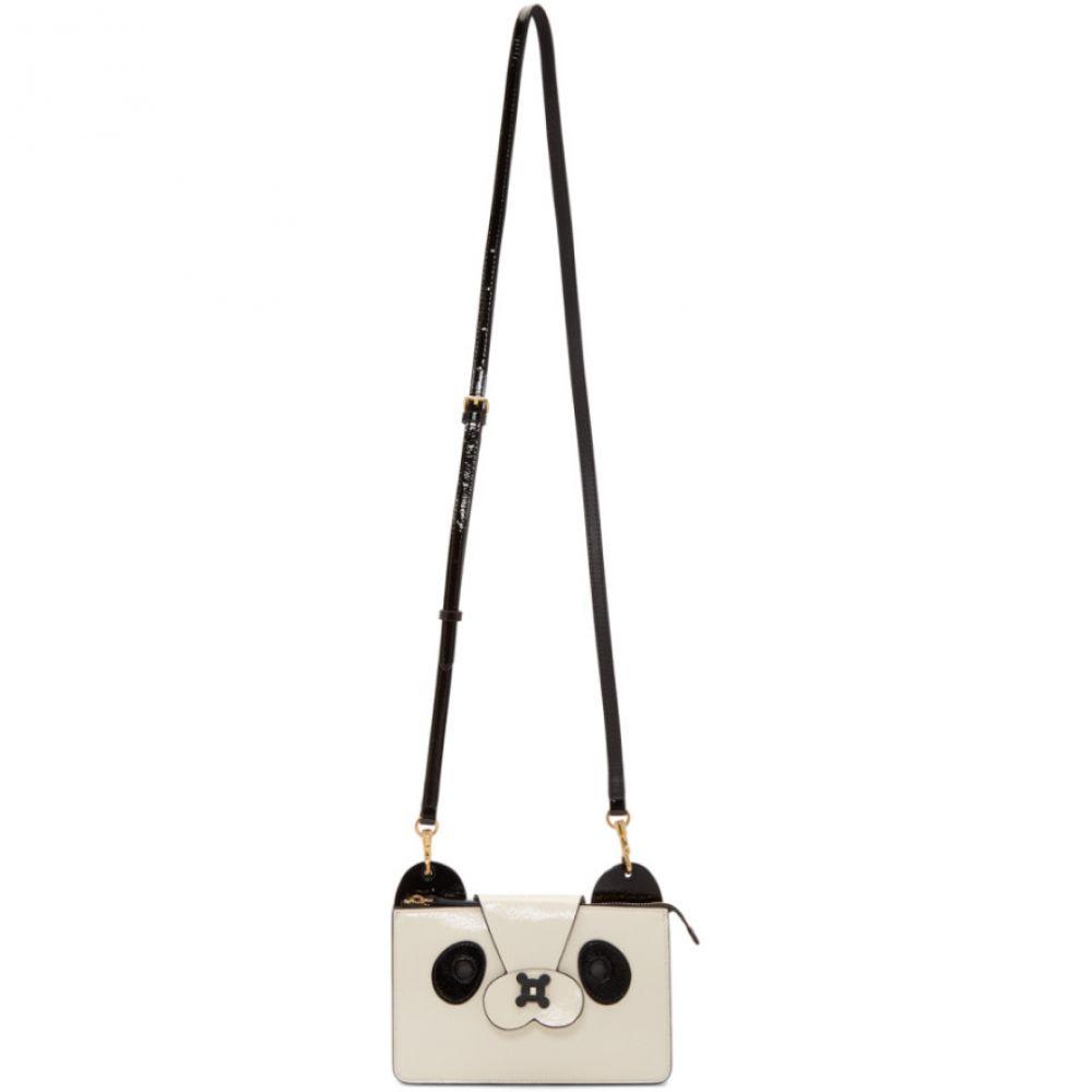 アニヤ ハインドマーチ Anya Hindmarch レディース バッグ ショルダーバッグ【White & Black Panda Crossbody Pouch Bag】