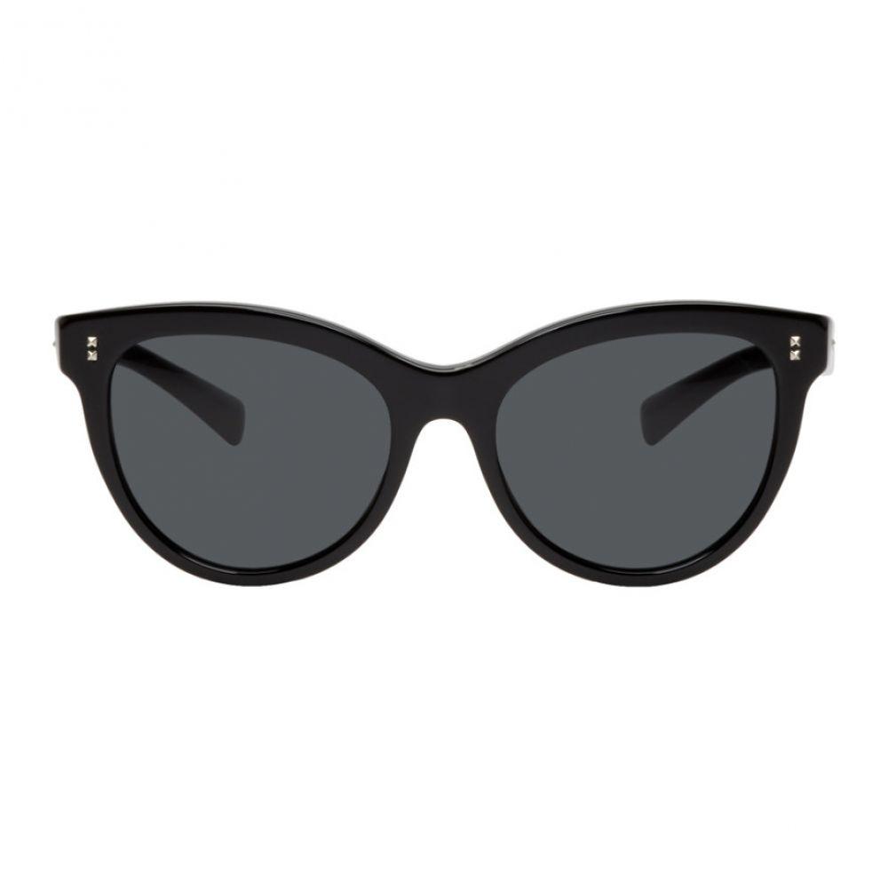 ヴァレンティノ Valentino レディース メガネ・サングラス【Black Garavani Cat-Eye Sunglasses】
