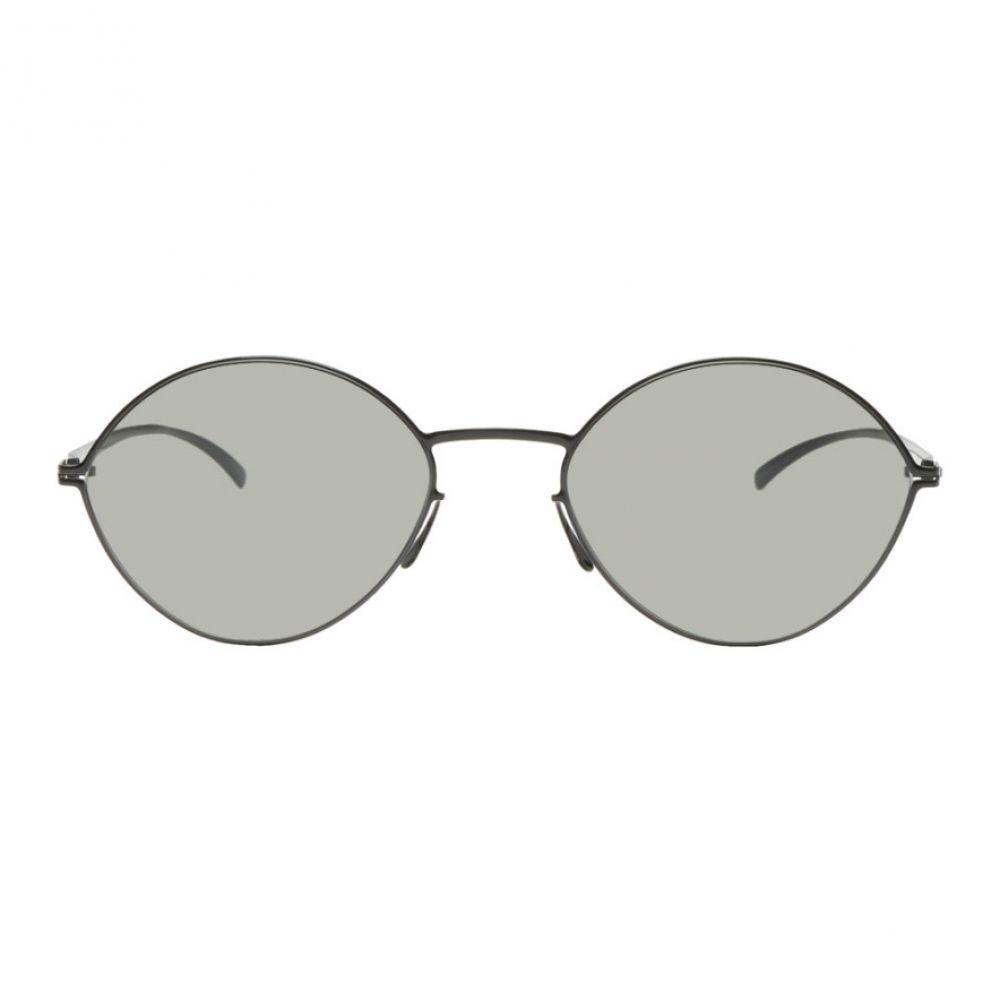メゾン マルジェラ Maison Margiela レディース メガネ・サングラス【Black Mykita Edition Almond Sunglasses】
