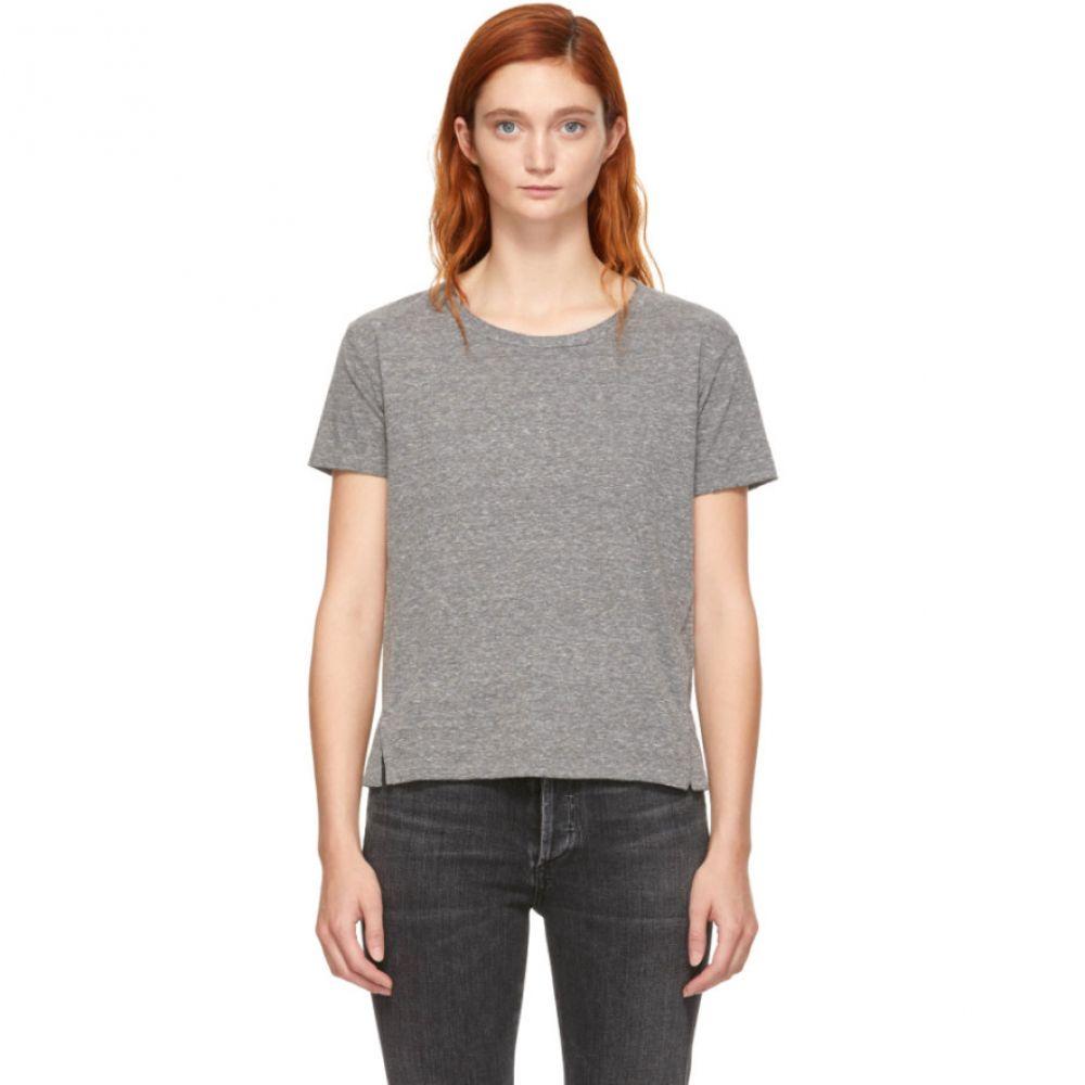 アモ Amo レディース トップス Tシャツ【Grey Twist T-Shirt】