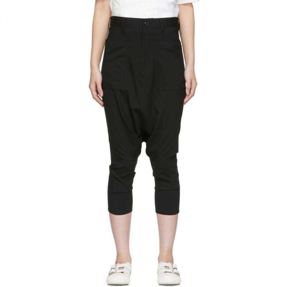 ワイズ Y's レディース ボトムス・パンツ【Black Tropical Wool K-Sarouel Trousers】