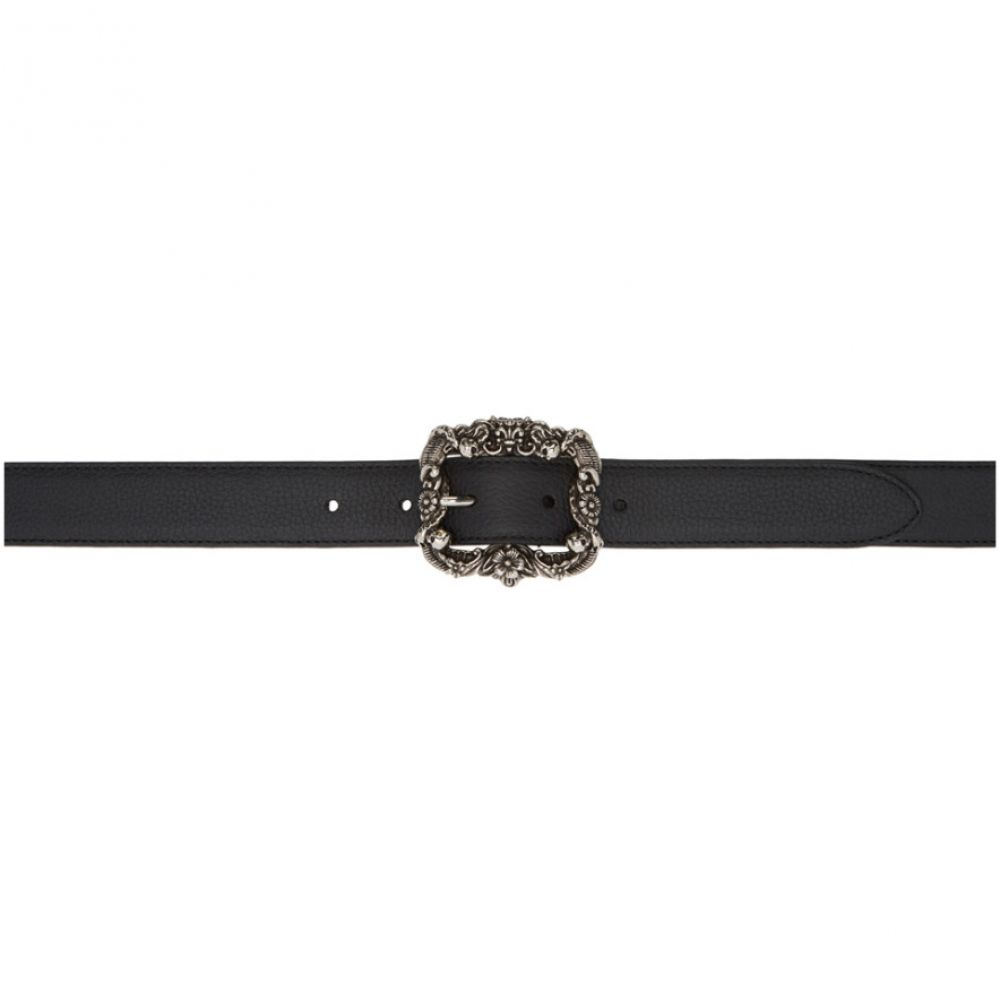 アレキサンダー マックイーン Alexander McQueen メンズ ベルト【Black Jewel Buckle Belt】