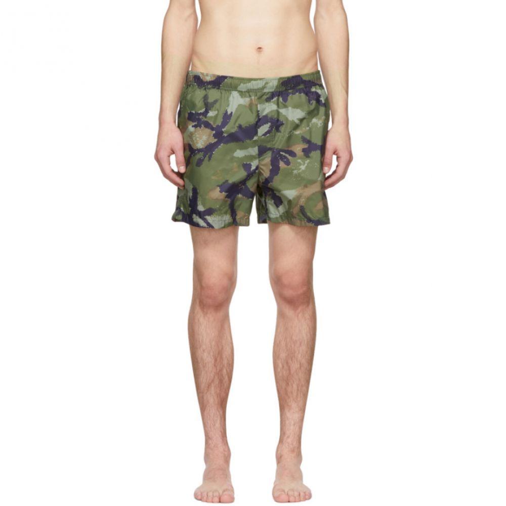 ヴァレンティノ Valentino メンズ 水着・ビーチウェア 海パン【Multicolor Camo Swim Shorts】