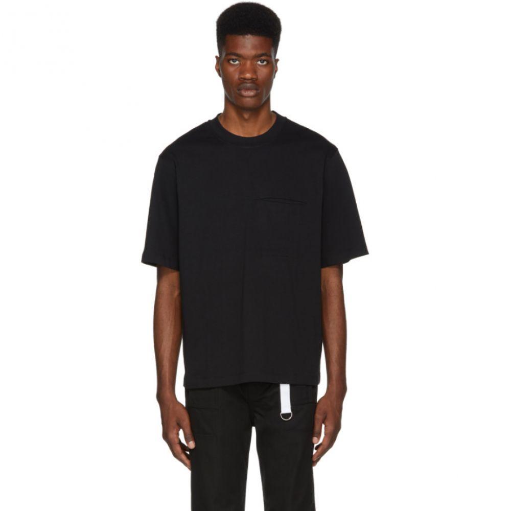 ヘルムート ラング Helmut Lang メンズ トップス Tシャツ【Black Stitched Pocket T-Shirt】