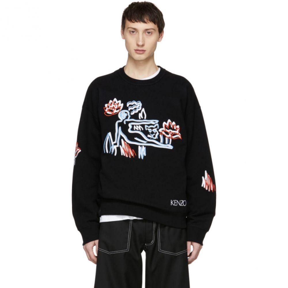 ケンゾー Kenzo メンズ トップス スウェット・トレーナー【Black Sketch Memento Sweatshirt】