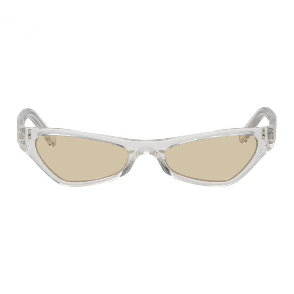 NOR レディース メガネ・サングラス【Transparent & Orange Venus Sunglasses】