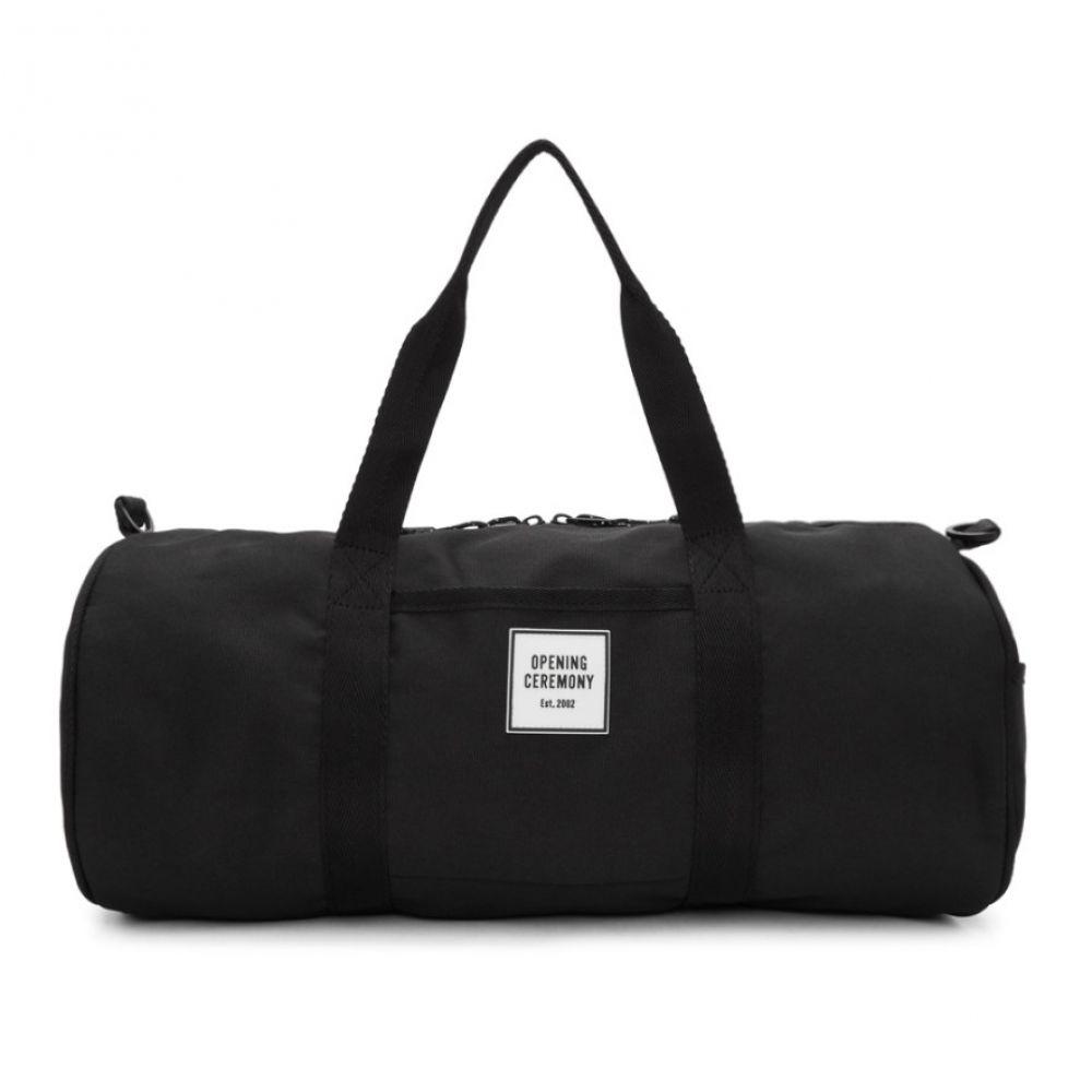 オープニングセレモニー Opening Ceremony レディース バッグ ボストンバッグ・ダッフルバッグ【Black Logo Duffle Bag】