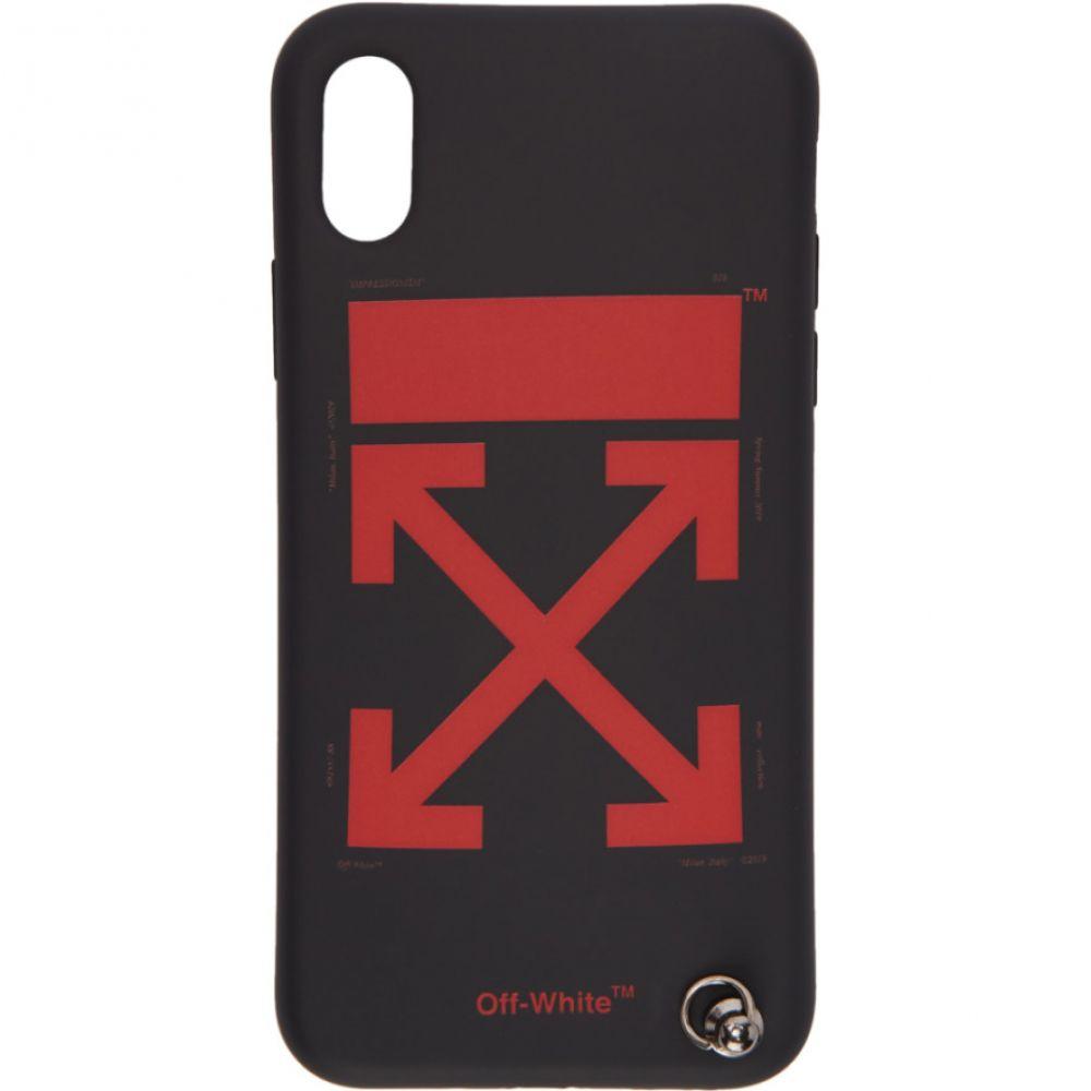 オフ-ホワイト Off-White レディース iPhone (X)ケース【Black Arrows Strap iPhone X Case】