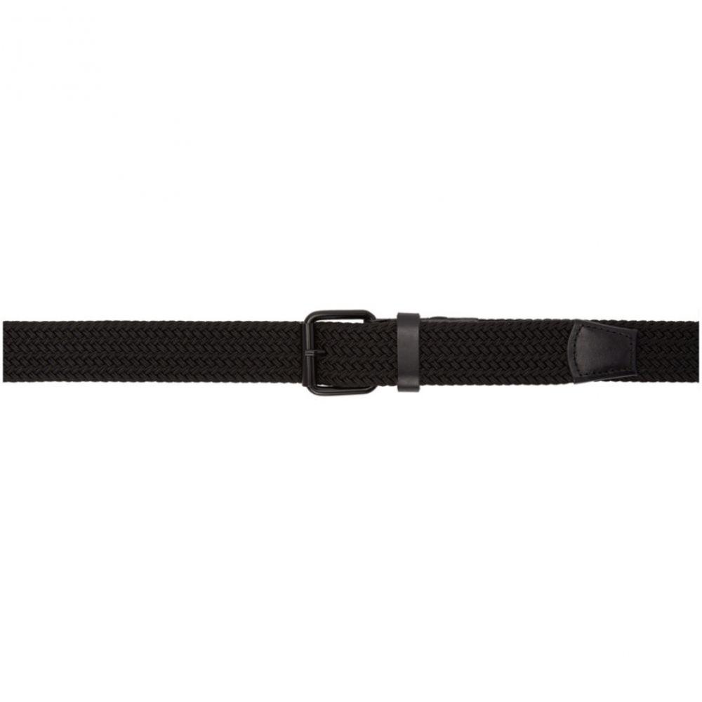サタデーニューヨーク Saturdays NYC メンズ ベルト【Black Shane Belt】