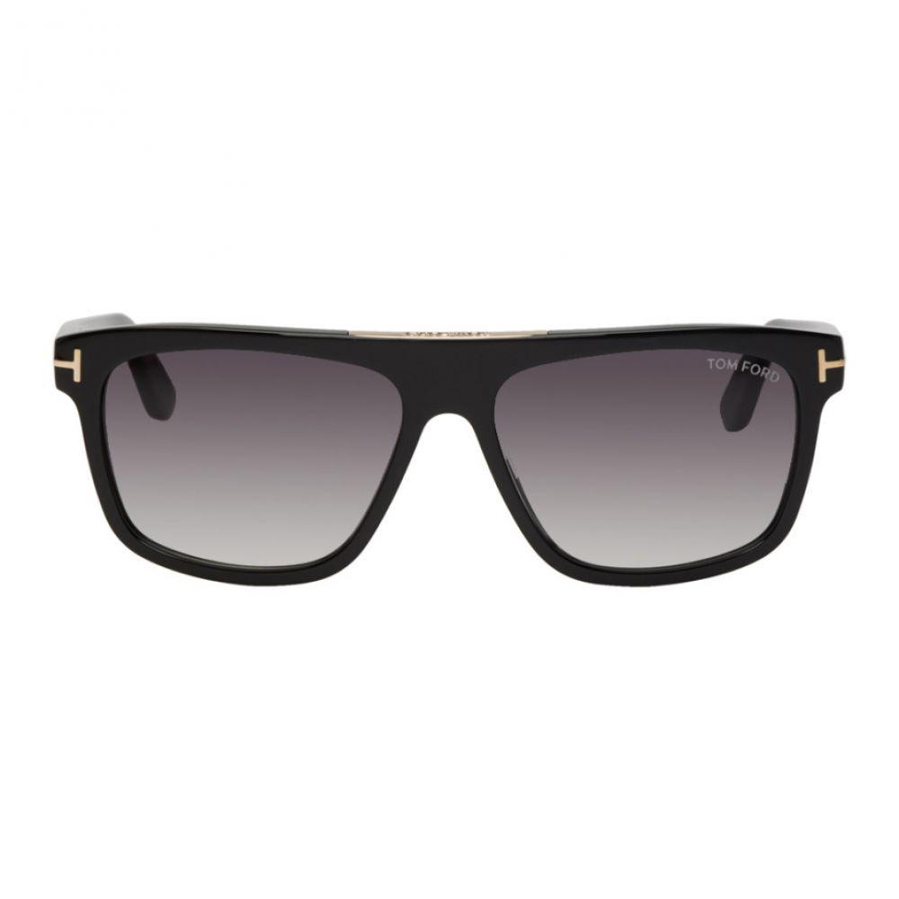 トム フォード Tom Ford メンズ メガネ・サングラス【Black Cecilio-02 Sunglasses】