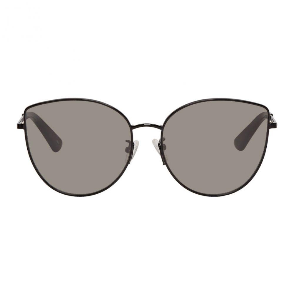 アレキサンダー マックイーン McQ Alexander McQueen レディース メガネ・サングラス【Black Discord Sunglasses】