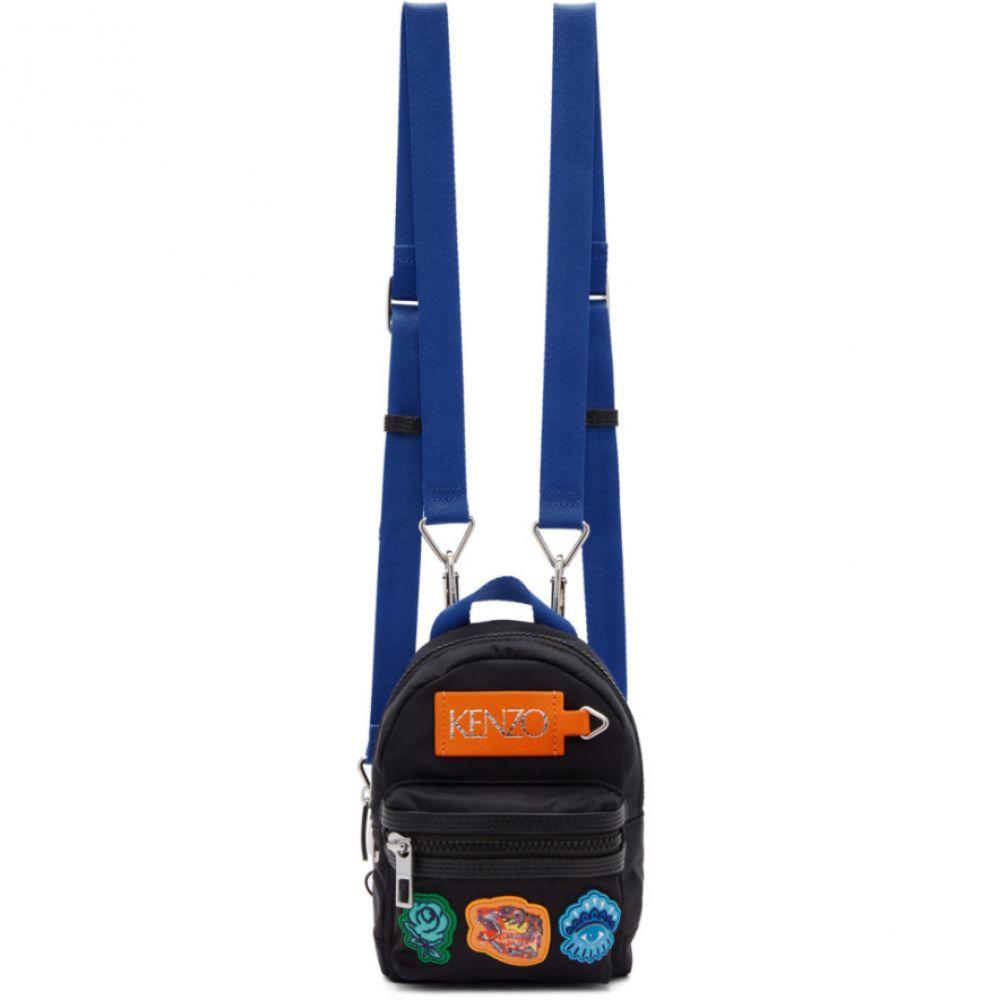 ケンゾー Kenzo レディース バッグ バックパック・リュック【Black Limited Edition Mini Go Tigers Capsule Backpack】