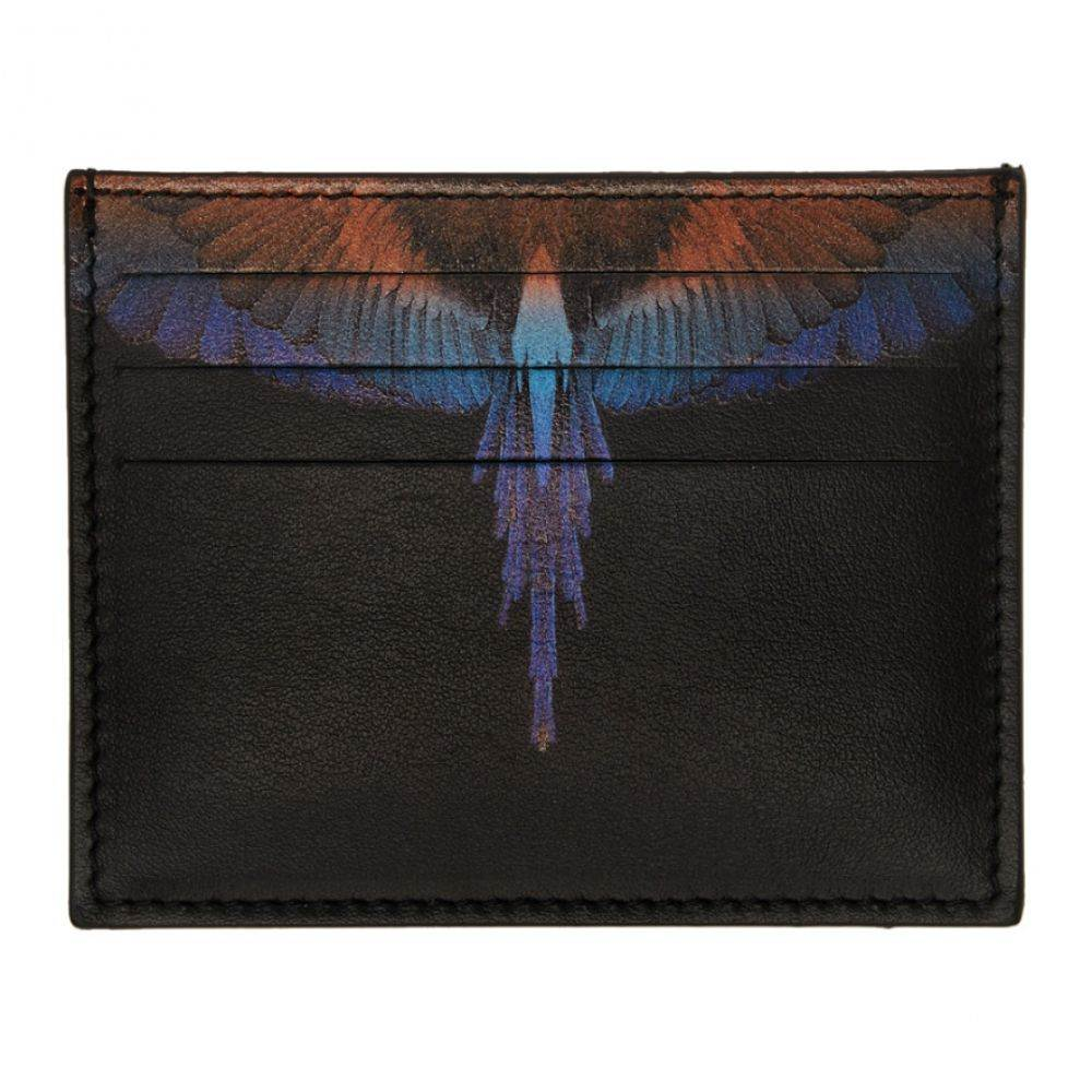 マルセロバーロン Marcelo Burlon County of Milan メンズ カードケース・名刺入れ【Black Wings Card Holder】