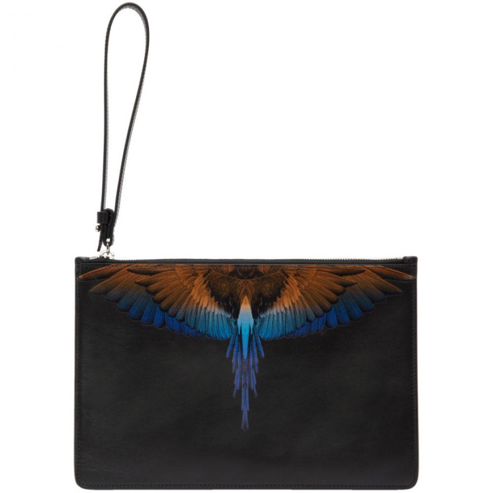 マルセロバーロン Marcelo Burlon County of Milan メンズ バッグ クラッチバッグ【Black Wings Pouch】