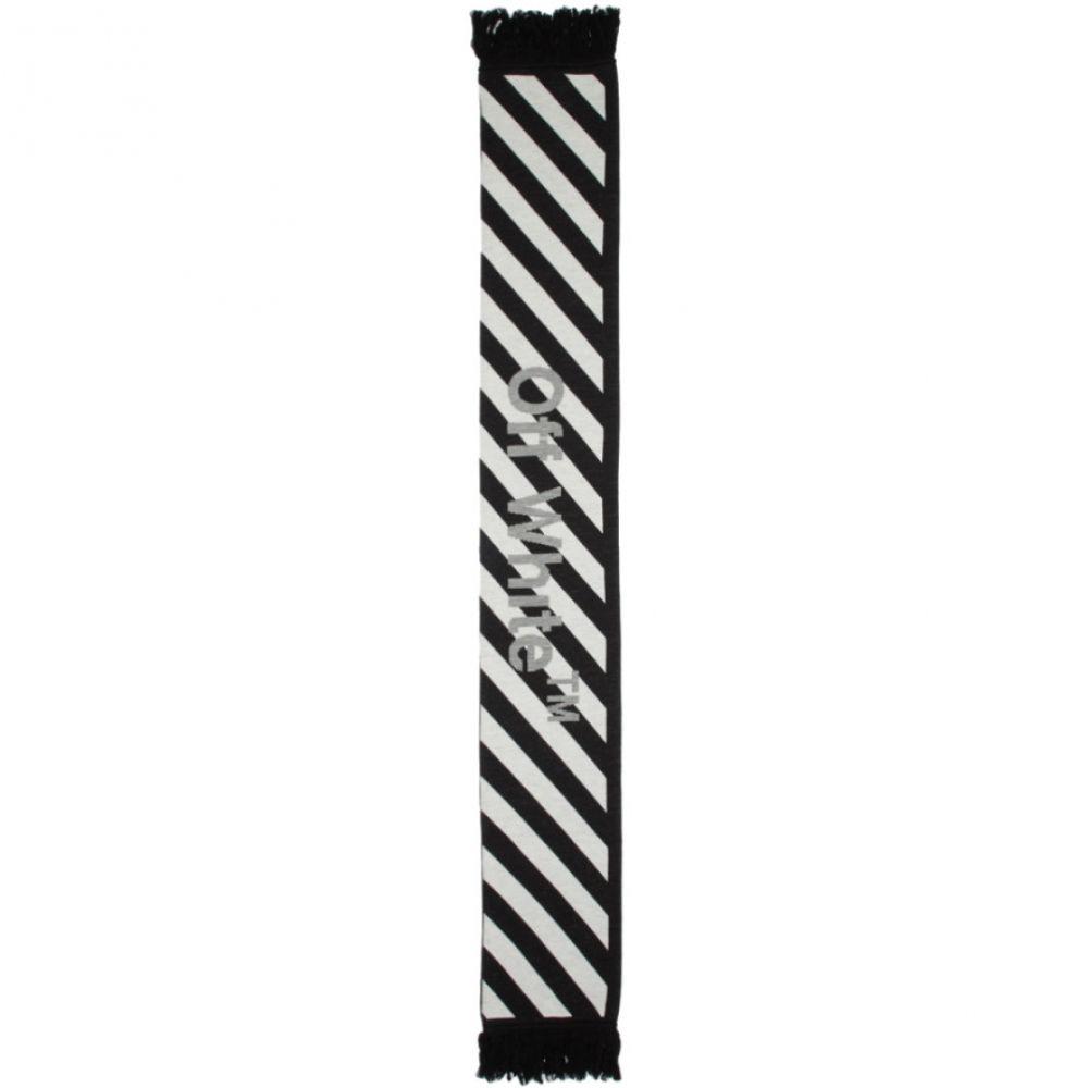 オフ-ホワイト Off-White レディース マフラー・スカーフ・ストール【Black & White Arrows Scarf】