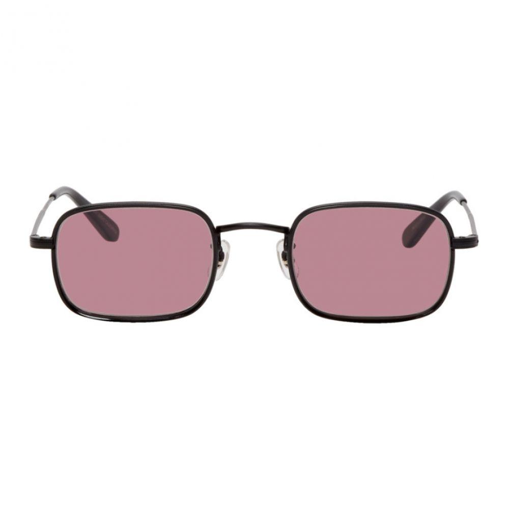 ギャレットライト Garrett Leight メンズ メガネ・サングラス【Black & Purple Steiner Sunglasses】