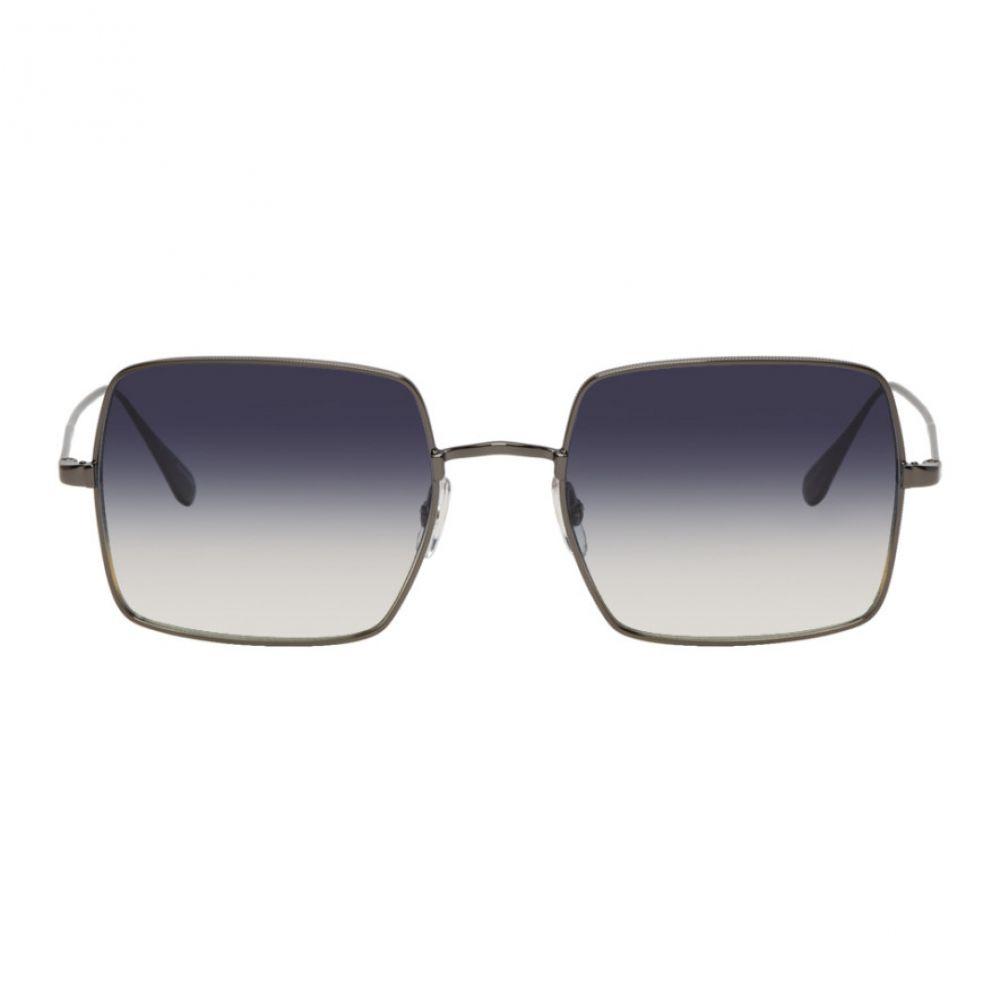 ギャレットライト Garrett Leight メンズ メガネ・サングラス【Gunmetal Crescent Sunglasses】