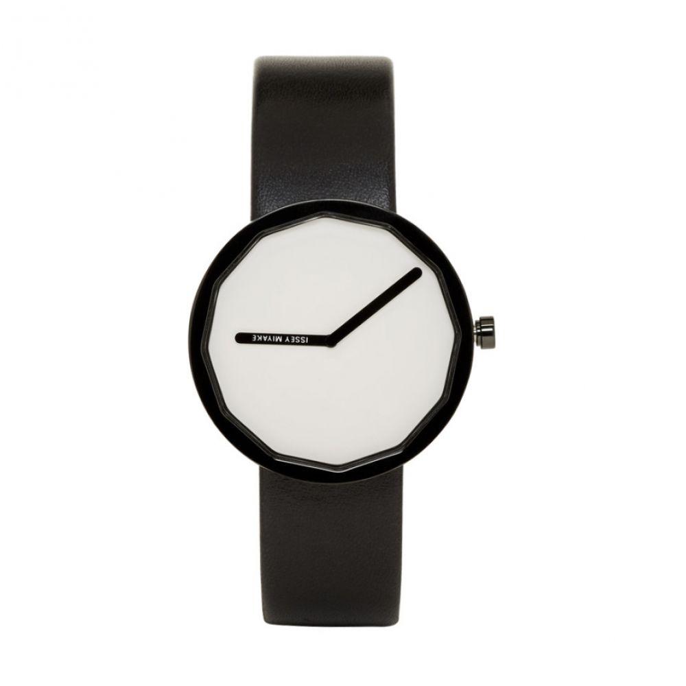 イッセイ ミヤケ Issey Miyake Men メンズ 腕時計【Black & White Twelve Series Watch】
