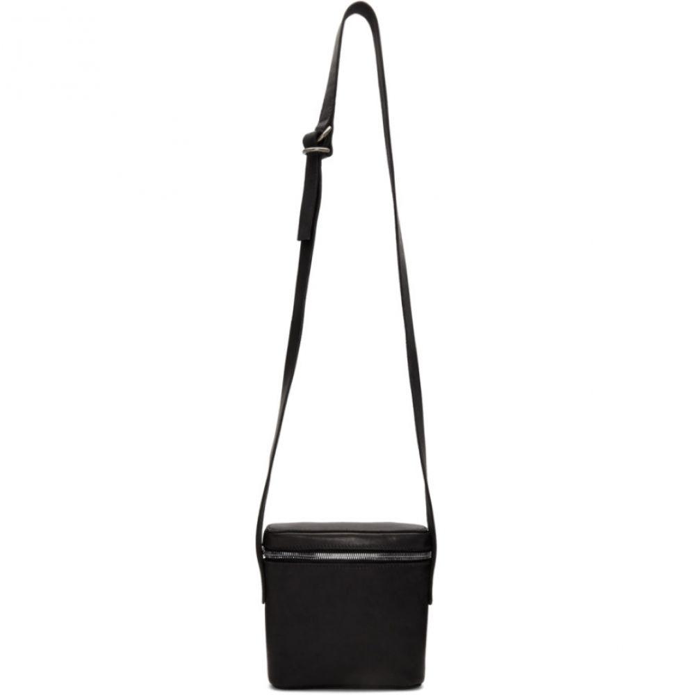 グイディ Guidi メンズ バッグ メッセンジャーバッグ【Black Kangaroo Messenger Bag】