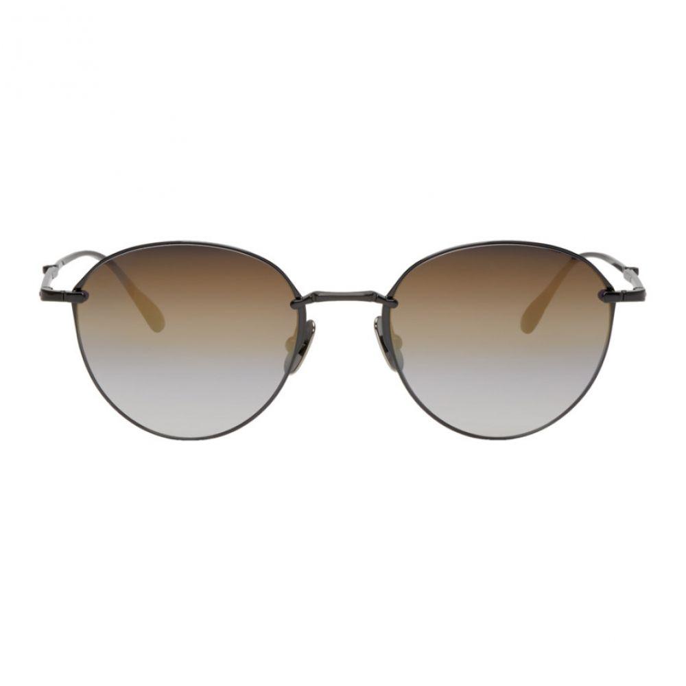 ミスター ライト Mr. Leight メンズ メガネ・サングラス【Black Mulholland S Sunglasses】