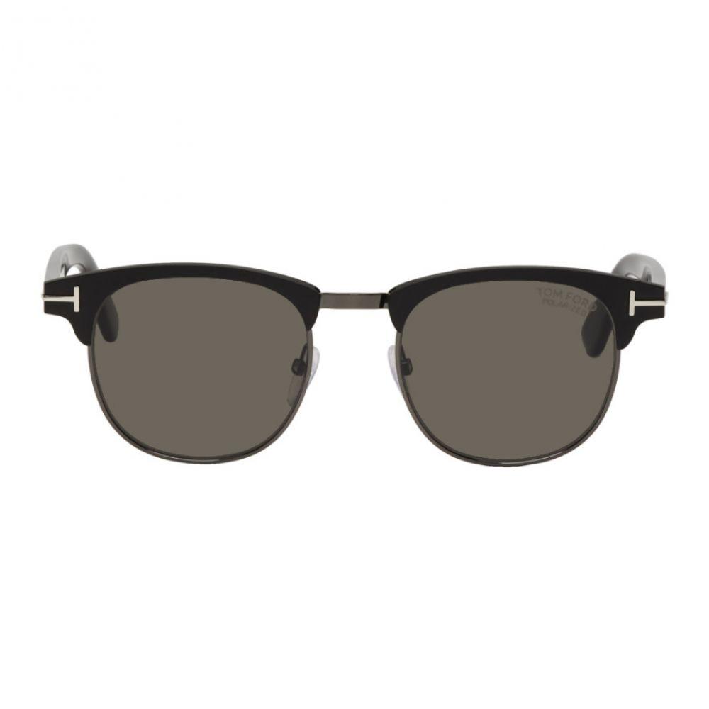 トム フォード Tom Ford メンズ メガネ・サングラス【Black Laurent-02 Sunglasses】