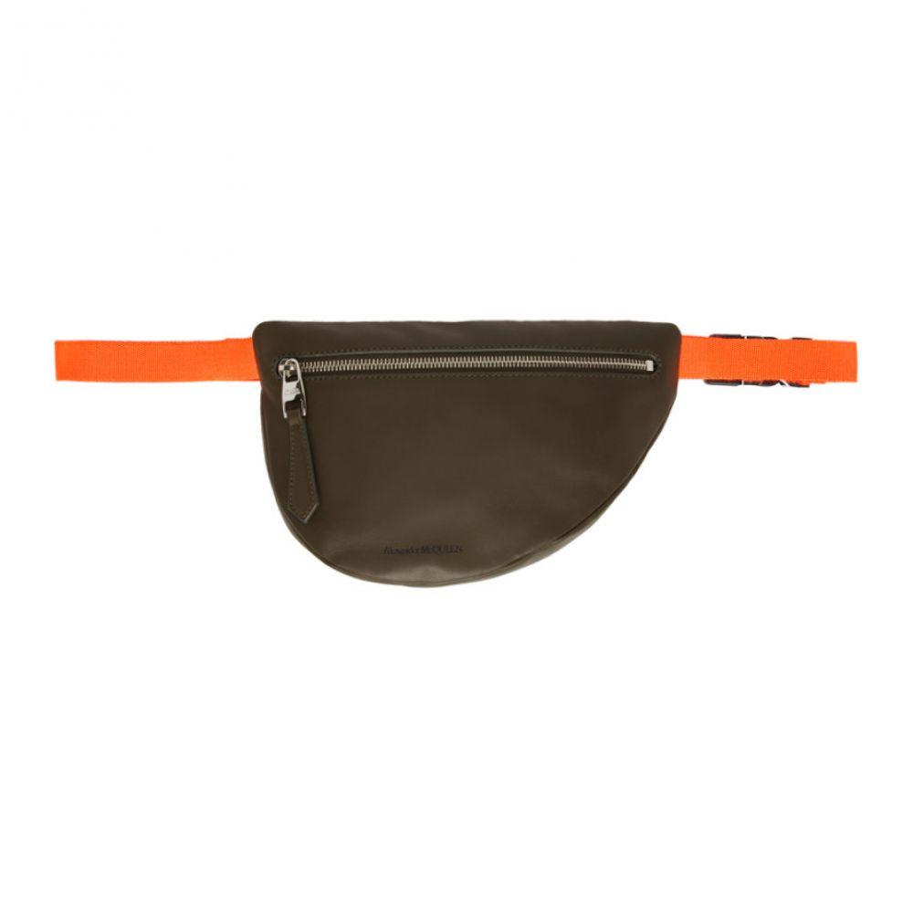 アレキサンダー マックイーン Alexander McQueen メンズ バッグ ボディバッグ・ウエストポーチ【Green & Orange Mini Bum Bag】