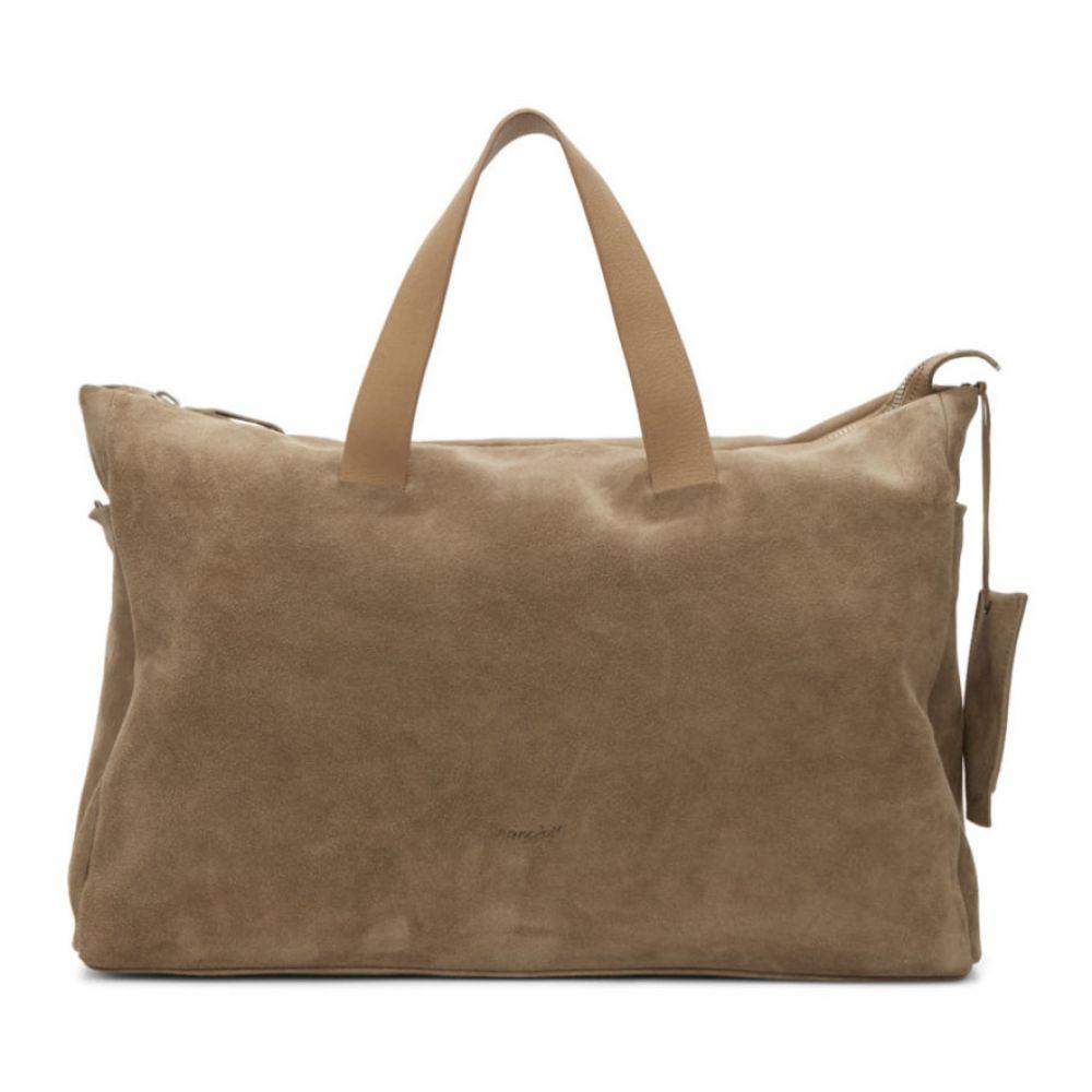 マルセル Marsell メンズ バッグ ボストンバッグ・ダッフルバッグ【Brown Suede Monouso Duffle Bag】