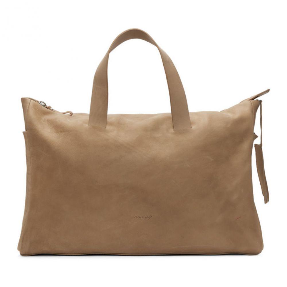 マルセル Marsell メンズ バッグ ボストンバッグ・ダッフルバッグ【Brown Monouso Duffle Bag】