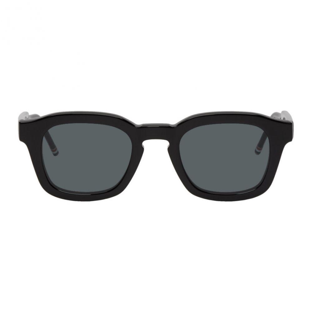 トム ブラウン Thom Browne メンズ メガネ・サングラス【Black TBS412 Sunglasses】